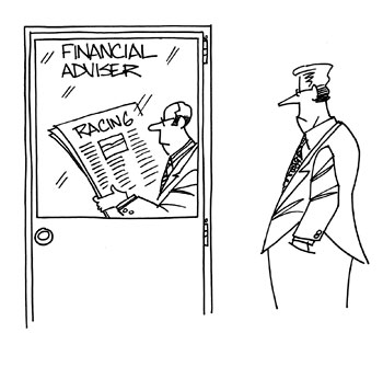 Financial Advisor Cartoon