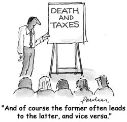Tax Consulting Cartoon
